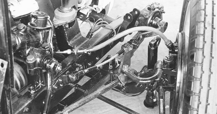 VA chassis and suspension