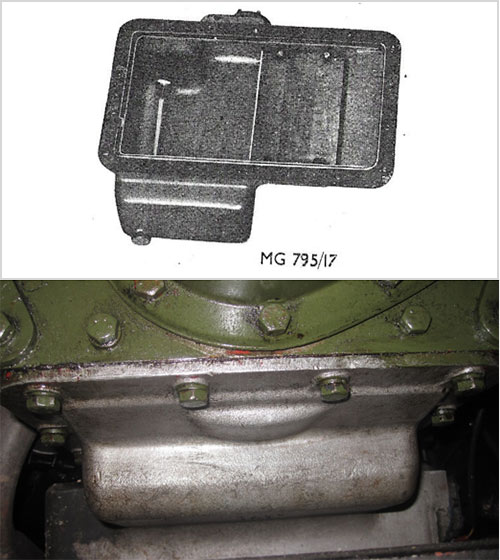 Figure 1 - Sump Dry Clutch Engine (From TPBG 1790)
